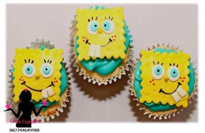 Cupcake Lucu dan Unik Spogebob