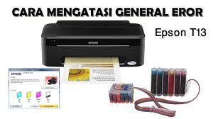 Printer T13 Cartridge Error