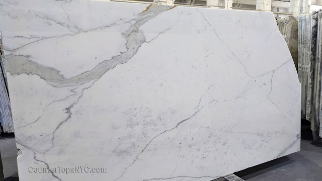 Italian Calacatta Gold Marble Slabs NYC 3cm