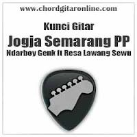 Chord Kunci Gitar Jogja Semarang PP Ndarboy Genk feat Resa Lawang Sewu