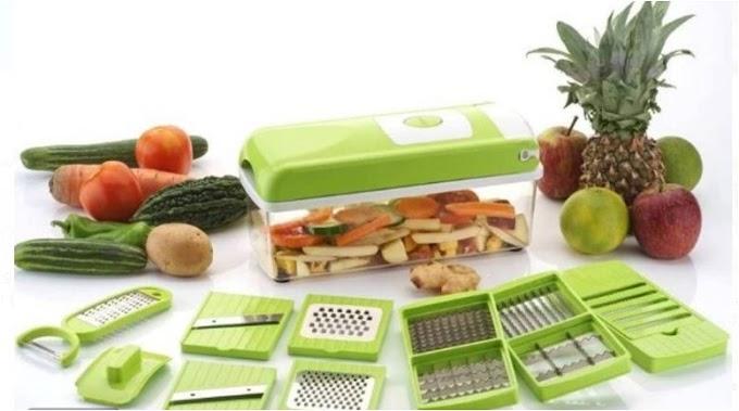 Bluewhale Vegetable & Fruit Grater & Slicer  (1 chopper set)