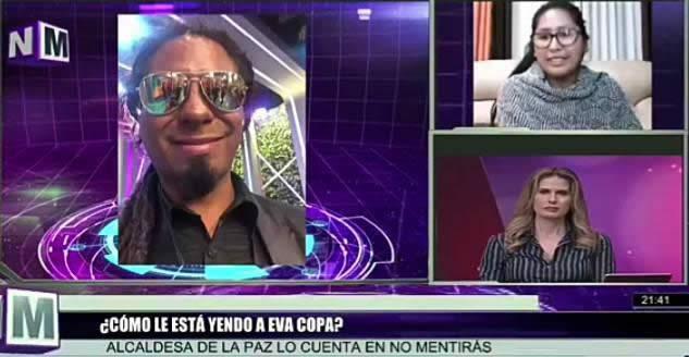 Eva Copa afirma que en el Alto discriminan a Mister Yo por su color de piel
