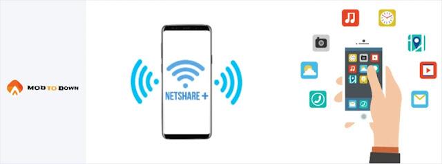 تحميل تطبيق توزيع واي فاي وانت متصل بواي فاي للاندرويد بدون روت