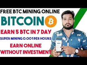 Earn Free Bitcoin Daily - 0.002 BTC A Day  Super Mining Website, Earn Money, Without Investment ETH
