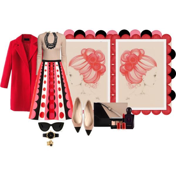 NEBOJTE SA VÝRAZNÝCH SUKNÍ_Katharine-fashion is beautiful_Bodkovaná sukňa_Katarína Jakubčová_Fashion blogger