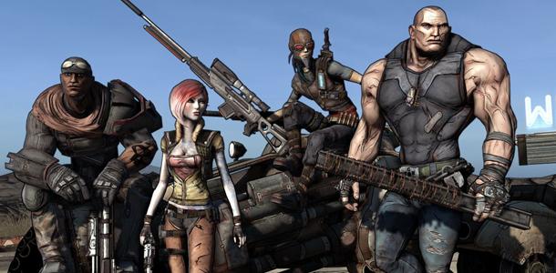 Una inspiración, Borderlands y sus cuatro clases de personajes.