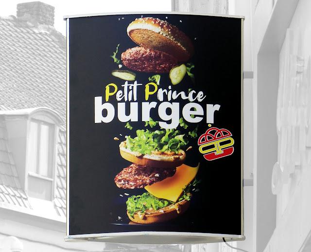 Enseigne Petit Prince Burger - Tourcoing, Rue de Lille