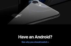 Apple Mengisyaratkan Pengguna Android Beralih ke iPhone SE 2020