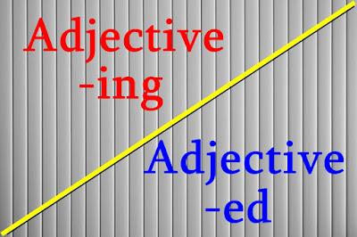 DBI | Adjective -ing & Adjective -ed