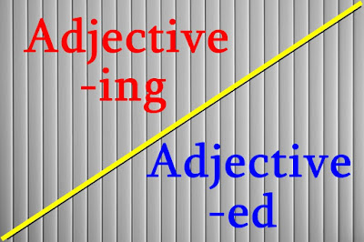 Adjective adalah salah satu kata yang sering dipakai dalam percakapan sehari Cara Paling Mudah Membedakan Adjective -ing dan -ed