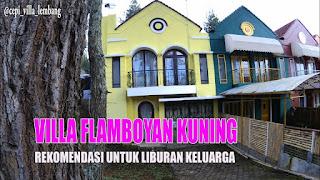 Villa Flamboyan Kuning Lembang - Villa 2 Kamar