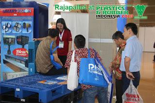rajapallet di plaspak 2019, plastic & rubber 2019