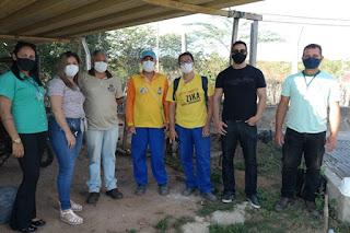 Campus Cuité da UFCG recebe visita de agentes para combater o mosquito da dengue
