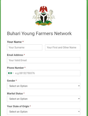 How to register for Buhari Young Farmers Network - BYFN