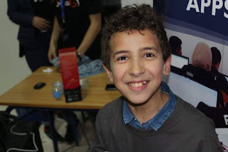 Ider, an 11-year-old developer from Morocco