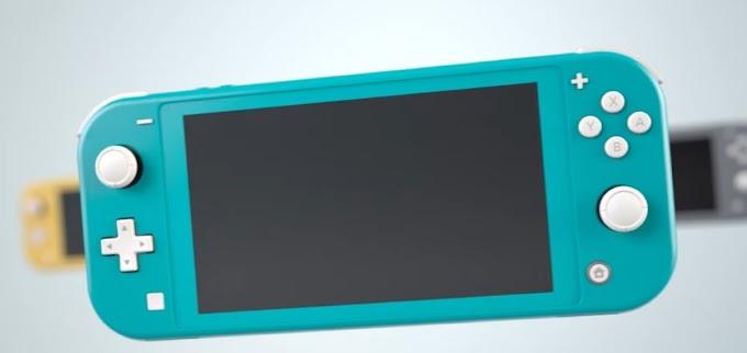 Sorteio de um Nintendo Switch Lite na cor Turquesa!