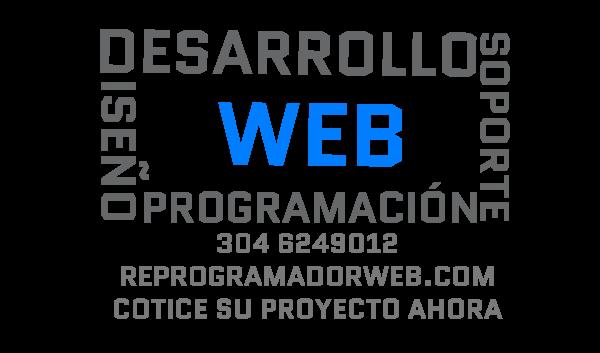 desarrollo web y soporte tecnico web en Bogota