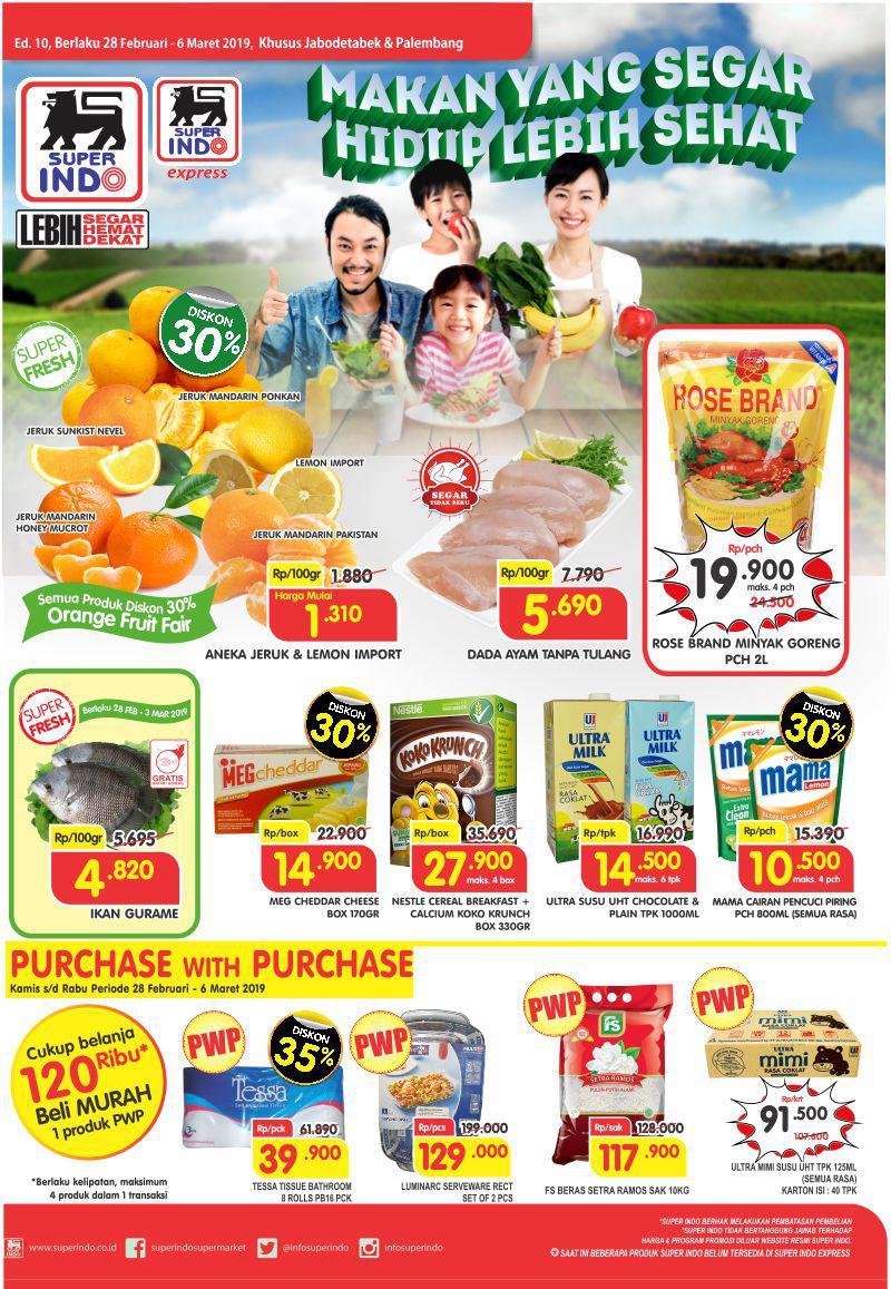 #Superindo - #Promo #Katalog Periode 28 Februari - 06 Maret 2019