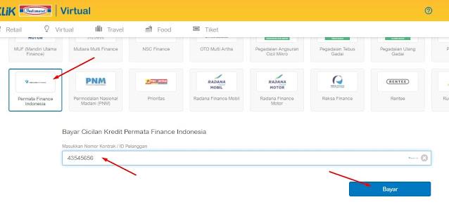 cek angsuran permata finance secara online