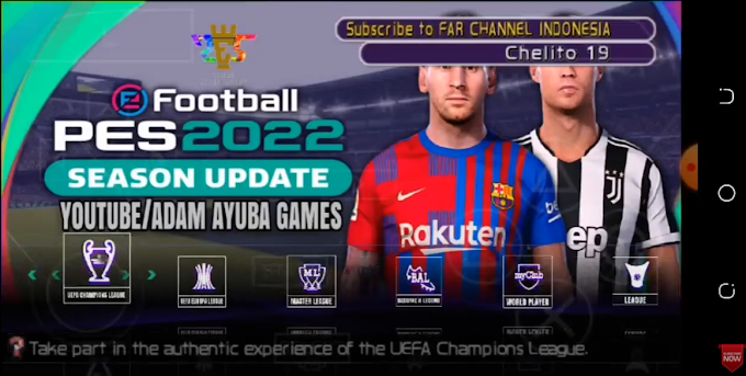 PES 2022 PPSSPP For Android Offline (New Transfers Update April)