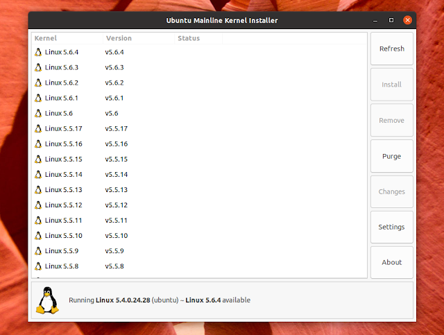 Ubuntu Mainline Kernel Installer