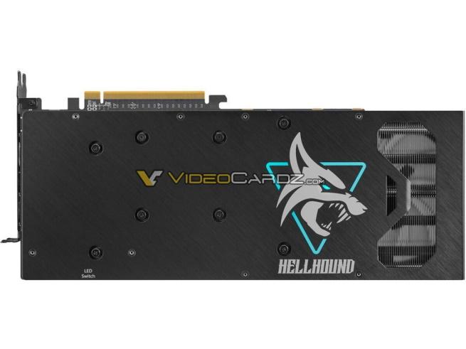 PowerColor RX 6700 XT Hellhound Back