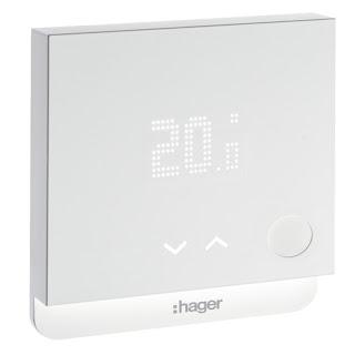 Thermostat WIFI connect/é pour une chaudi/ère individuelle Thermostat de 3/éme g/én/ération compatible avec toutes les chaudi/ères
