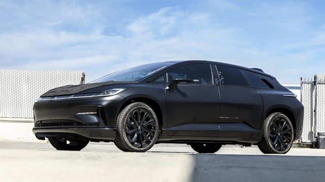 Faraday Future coloca seu primeiro protótipo de carro elétrico para leilão