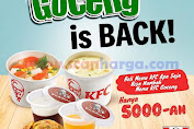 Promo KFC GOCENG is BACK!