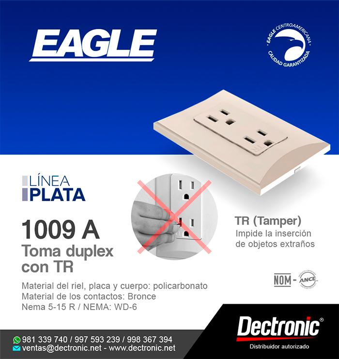 Toma duplex con TR 1009A - Eagle