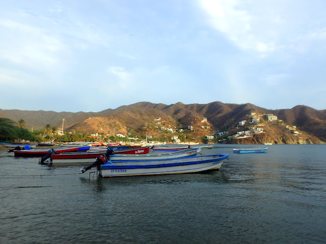 Taganga, a cute fishermen village in Colombia