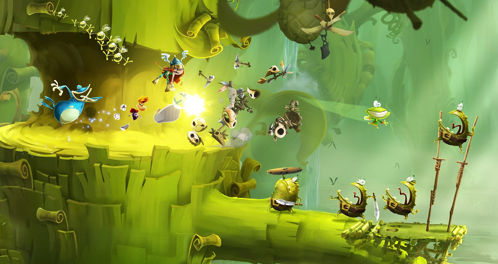 Rayman Legends [PC] [Full] [DVD ISO] Español