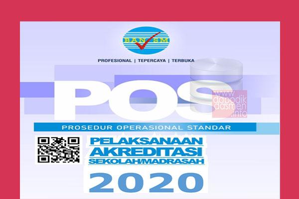 POS Akreditasi Sekolah/Madrasah Tahun 2020, Download POS Akreditasi atau Prosedur Operasional Standar Akreditasi oleh Badan Akreditasi Nasional Sekolah/Madrasah (BANSM)