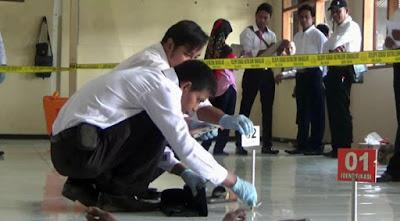 Mantapkan Kemampuan Penyidik, Polres Jombang Gelar Lomba Olah TKP