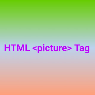 HTML <picture> tag
