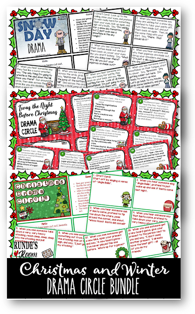 Christmas Drama Activities for Upper Elementary