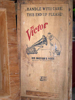 Stereo Sound Transformer - Victor Packing Crate