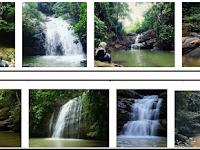Air Terjun Pinang Seribu Samarinda, alternantif wisata tenggarong seberang dan pulau beras basah @pengacaraperceraianpidanaperdatabalikpapan