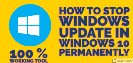 How to Stop Windows Update in Windows 10/8.1/8 Permanently