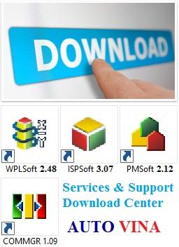 Phần mềm và tài liệu lập trình PLC Delta, nhà phân phối và nhập khẩu PLC Delta tại Việt Nam
