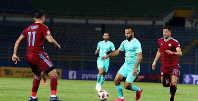 التشكيل الرسمي للفريقين لمواجهة مباراة الاهلي ضد بيراميدز في الدوري المصري