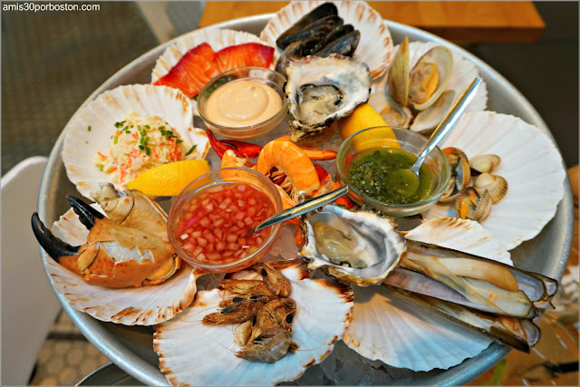 Fruits de Mer de The Seafood Bar en Amsterdam