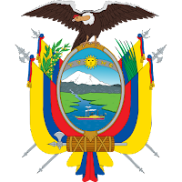 Logo Gambar Lambang Simbol Negara Ekuador PNG JPG ukuran 200 px
