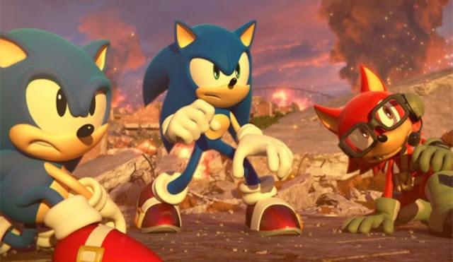 إستعراض بيئة اللعب في إصدار Sonic Forces عبر باقة من الصور
