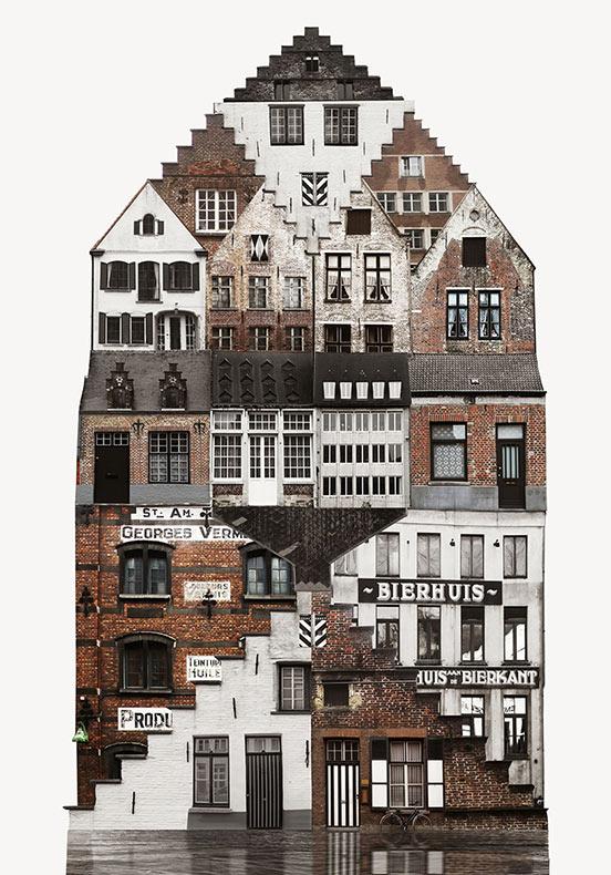 Colleges de arquitectura ilustran las viviendas vernáculares de diferentes ciudades