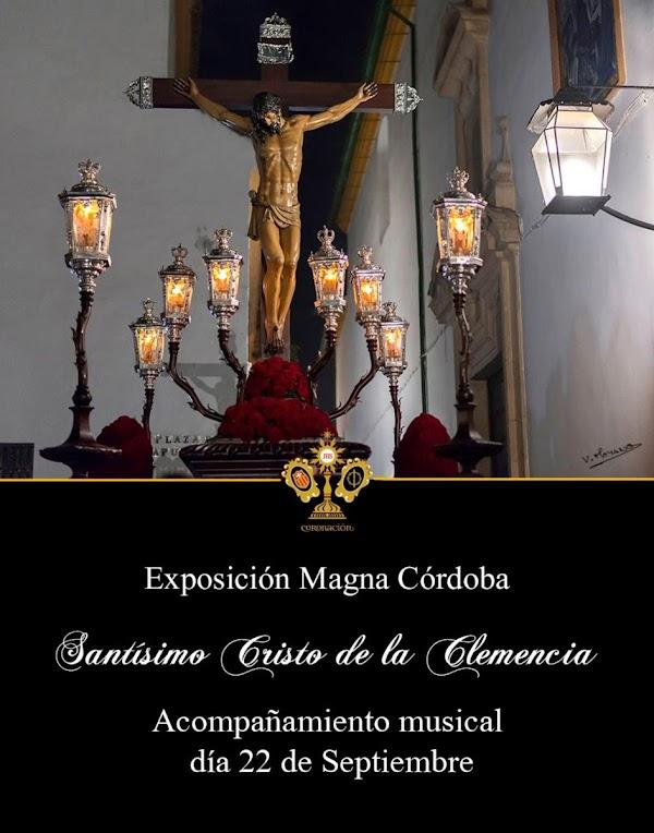 Coronación de Espinas acompañar musicalmente al Cristo de la Clemencia en el Recorrido de Vuelta de la Exposición Magna de Córdoba