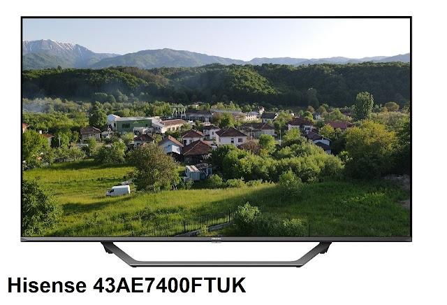 Hisense 43AE7400FTUK TV