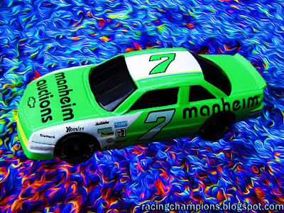 Harry Gant #7 Manheim Racing Champions 1/64 NASCAR diecast blog Ed Whitaker Bristol