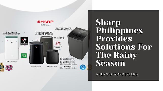 Sharp Philippines Provides Solutions For The Rainy Season