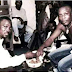 See This Photo Of Pasuma and Saheed Osupa Eating Amala together!